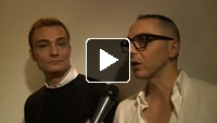 Direct from Milan : Interviews with Tommaso Aquilano and Roberto Rimondi
