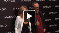 Mango Fashion Show event in Paris with a special appearance from Kate Moss