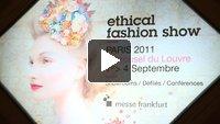 8ème édition du salon Ethical Fashion Show à Paris