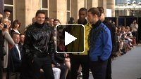 Pierre Cardin Spring /Summer 2013 Menswear Fashion Show with interview
